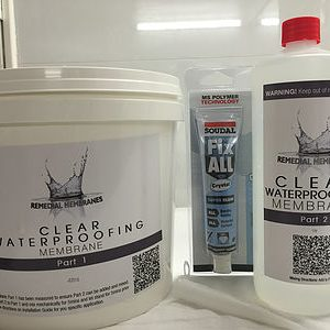 4Ltr Wallpaper Waterproofing Kit