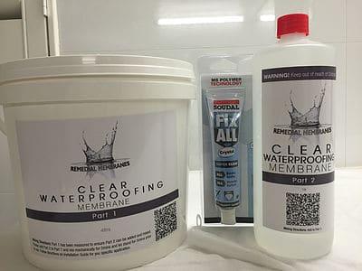 4Ltr Wallpaper Waterproofing Kit