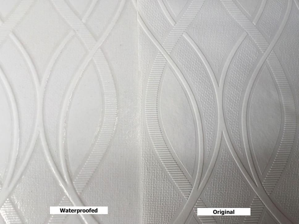 Paintable Wallpaper Closeup